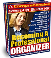 a manual for professional organizer
